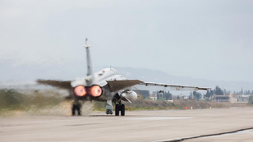 Se estrella un avión Su-24 ruso en Siria