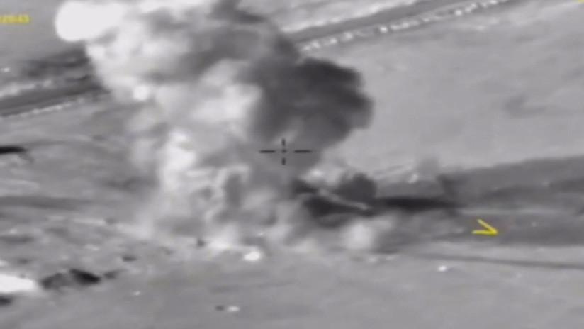 Aviones rusos realizan 182 ataques aéreos en Deir ez Zor en 24 horas