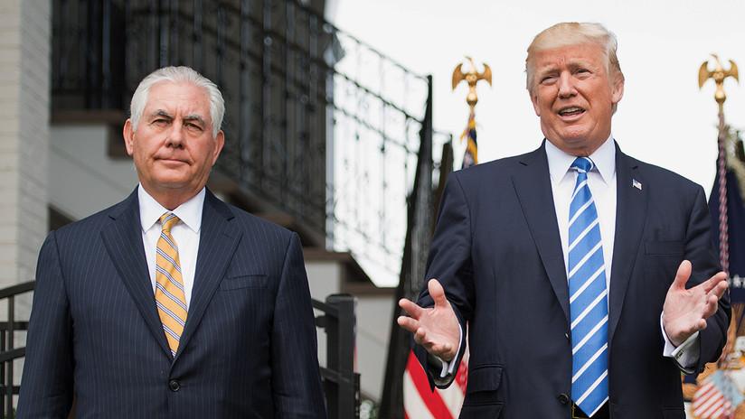 Trump reta a Tillerson a hacerse una prueba de coeficiente intelectual y sabe quién ganará