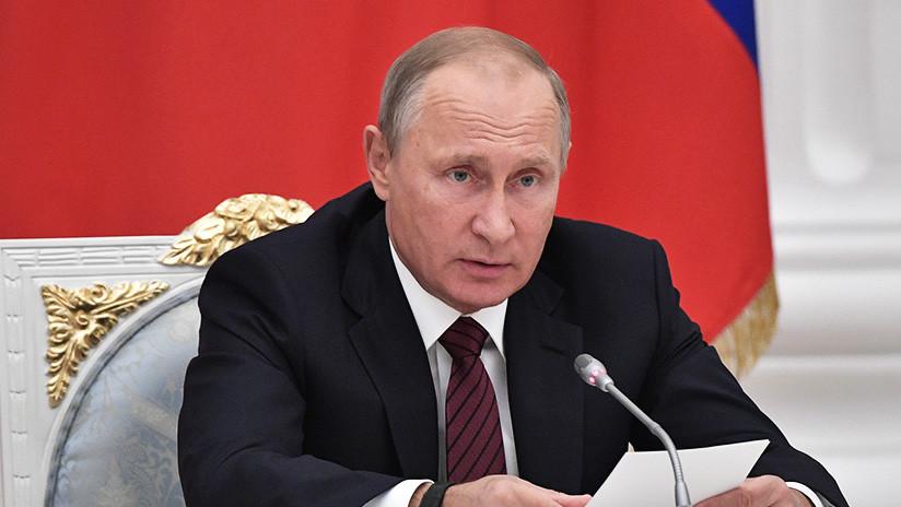 Putin: El uso de criptomonedas presenta graves amenazas