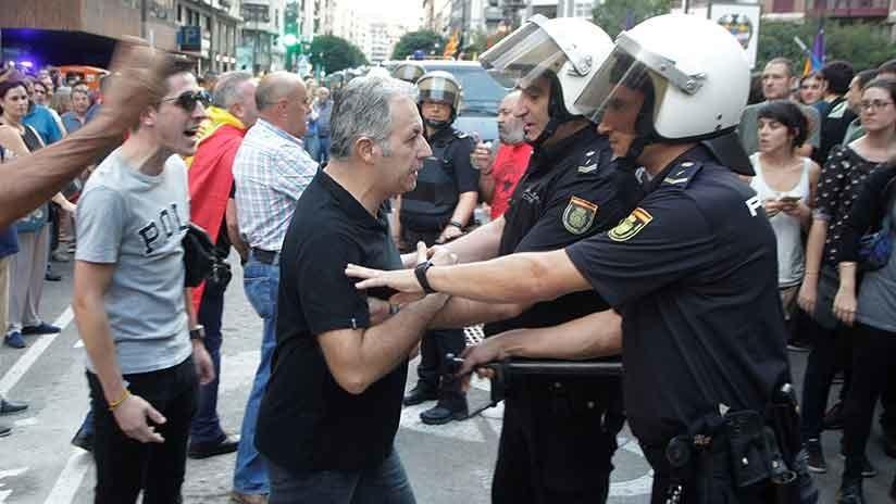"""El joven agredido por ultranacionalistas en Valencia: """"Era una cacería de la extrema derecha"""""""