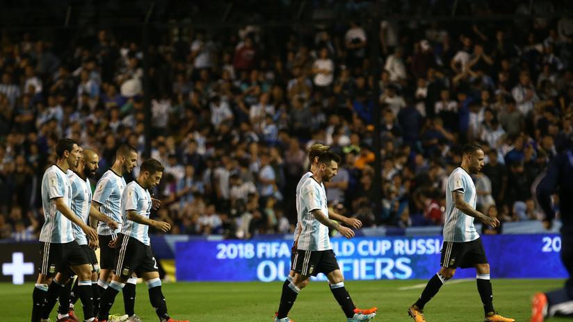Ecuador pierde ante Argentina en Eliminatoria Sudamericana de fútbol