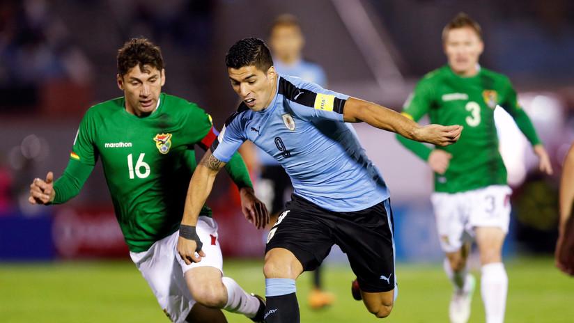 Uruguay gana a Bolivia por 4-2 y se clasifica para el Mundial de Rusia 2018