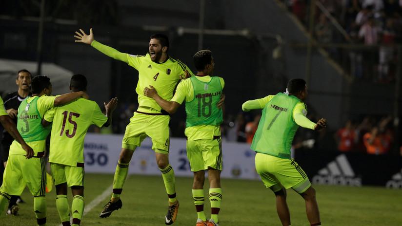 Paraguay queda fuera de Rusia 2018 tras perder 0-1 con Venezuela