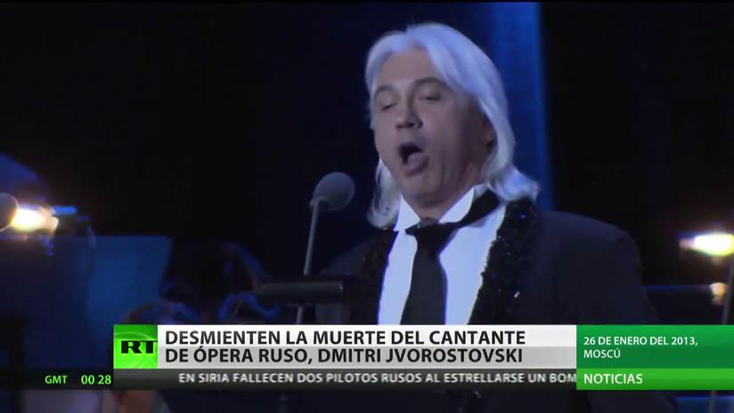 Desmienten la muerte del cantante Dmitri Jvorostovski