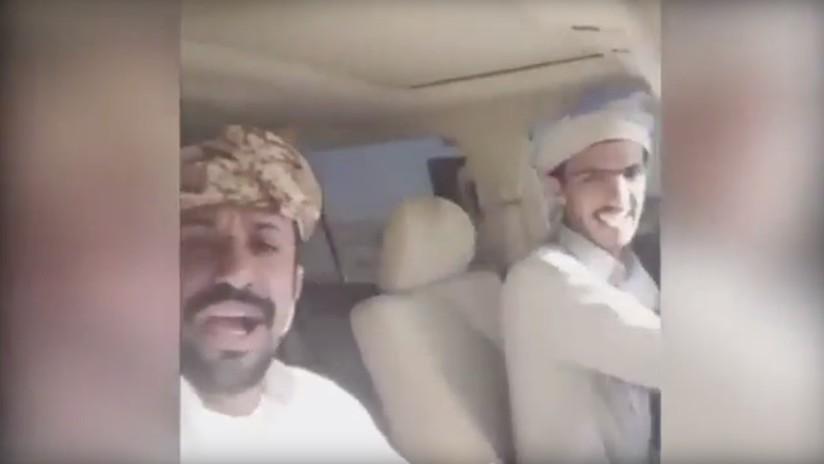 VIDEO: Se matan en un accidente de coche en Arabia Saudita cuando hacían transmisión por Snapchat