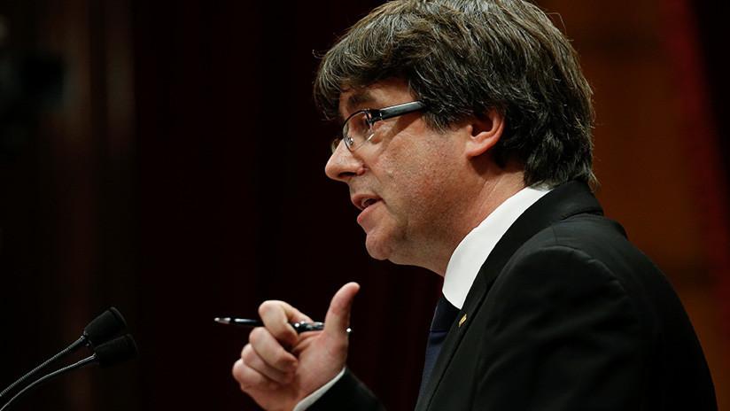 """Entendido"": Carles Puigdemont responde a Mariano Rajoy"