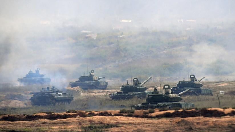 """Moscú: """"EE.UU. usó la histeria sobre la invasión rusa para desplegar más fuerzas en la frontera"""""""