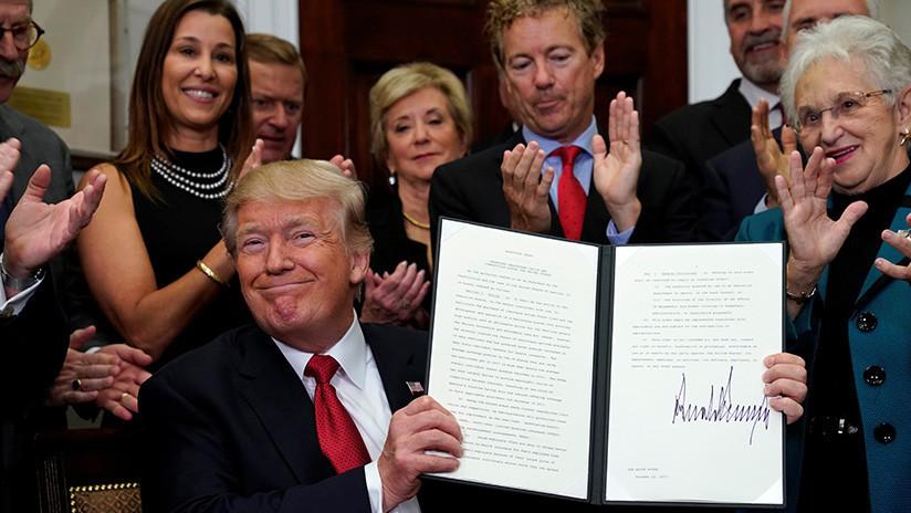 """Trump está """"arrancando el proceso"""" de revocar 'Obamacare'"""
