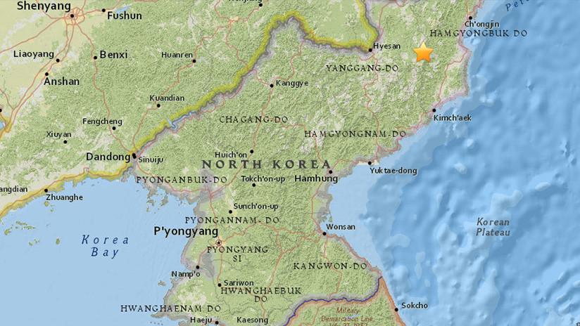 Un sismo de magnitud 2,9 se produce en el área de las pruebas nucleares previas de Pionyang