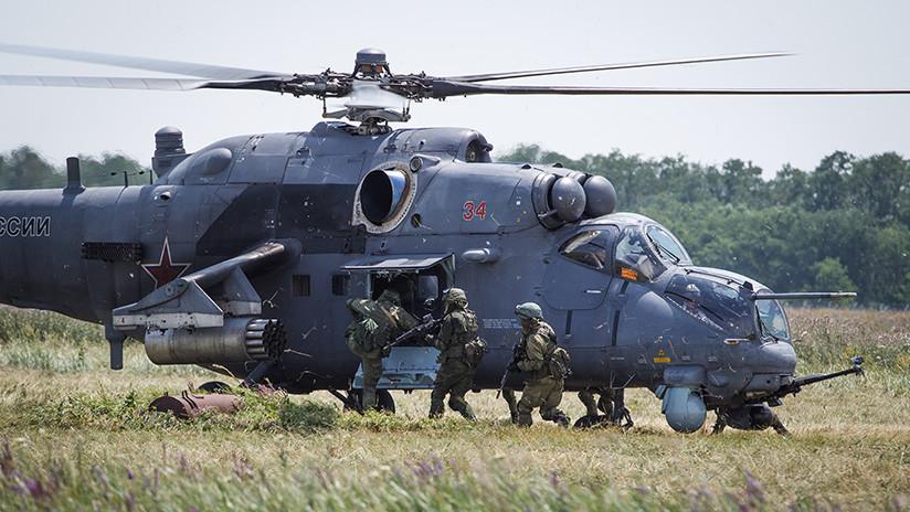 El 'cocodrilo' del aire: los secretos del helicóptero de ataque ruso Mi-24 (VIDEO)