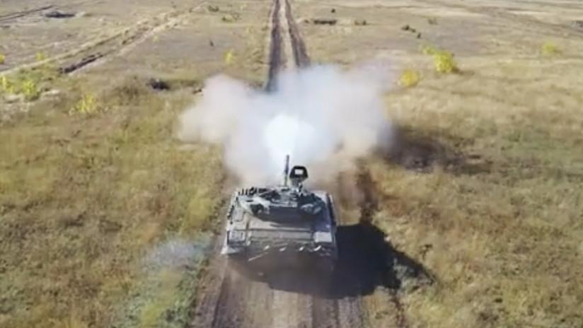 'Emboscada y captura de ciudades': Impresionantes prácticas del Ejército ruso con fuego real (VIDEO)