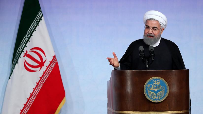 """Rohaní: """"Es imposible modificar el acuerdo nuclear de Irán con el Sexteto"""""""