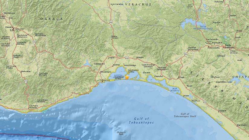 Se registra un sismo de magnitud 5,3 en México