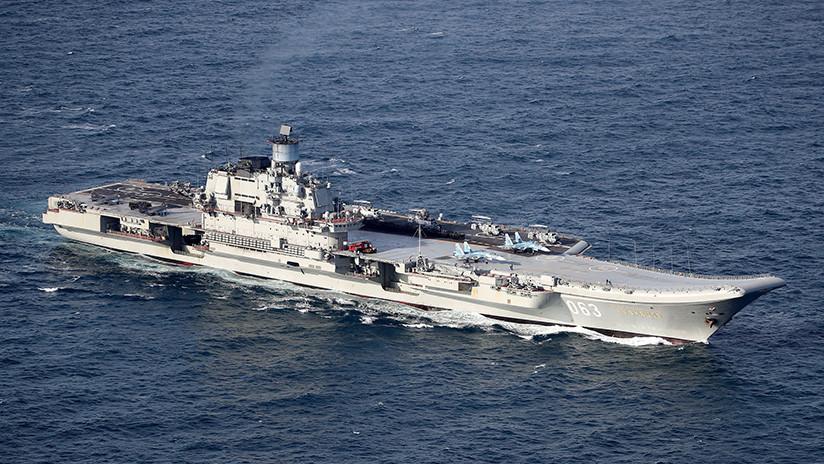 VIDEO: Muestran los secretos del buque militar de ataque más grande de Rusia