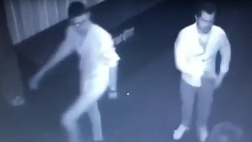 FUERTE VIDEO: Un hombre es asesinado en un bar cuando intentaba proteger a una mujer