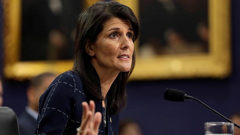 """Embajadora de EEUU en la ONU: Postura de Trump respecto a Irán, un """"mensaje perfecto"""" para Pionyang"""