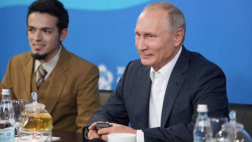 """Putin: """"Los países gastan muchos recursos para competir en vez de cooperar"""""""