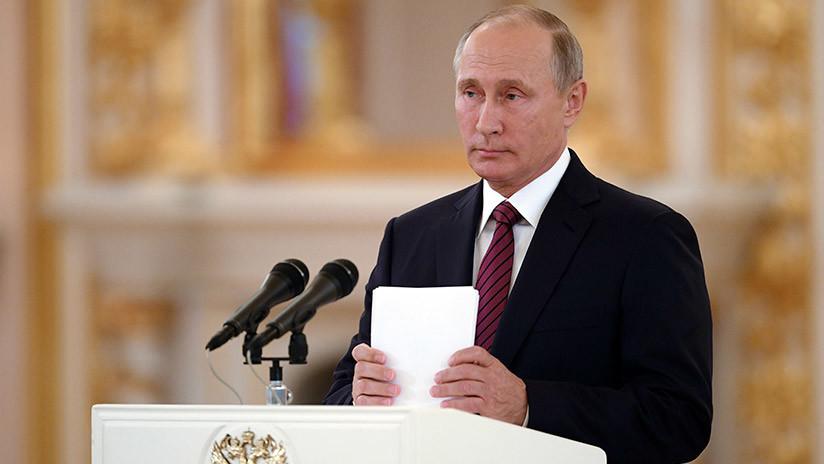 """Putin: """"Rusia cumple con sus obligaciones respecto al Acuerdo Climático de París"""""""