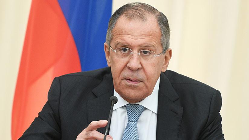 Lavrov: La decisión de EE.UU. sobre Irán habla de su falta de fiabilidad, una señal para Pionyang