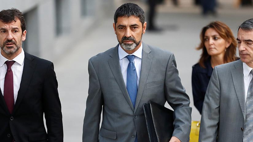 La jueza deja en libertad al jefe de los Mossos, pero con medidas cautelares