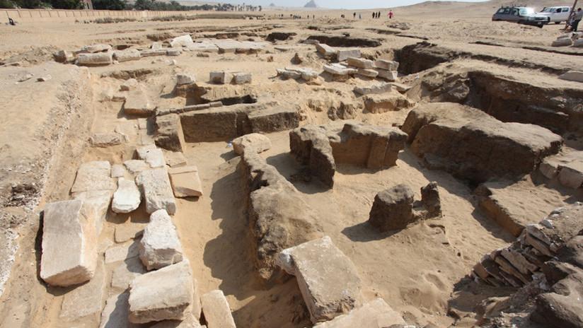 Descubren en Egipto un templo 'perdido' del más célebre de los faraones (FOTOS)