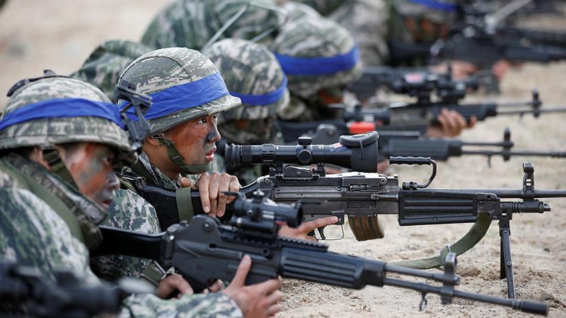 """Pionyang: """"Las maniobras de Washington y Seúl en la península coreana crean amenaza de guerra"""""""