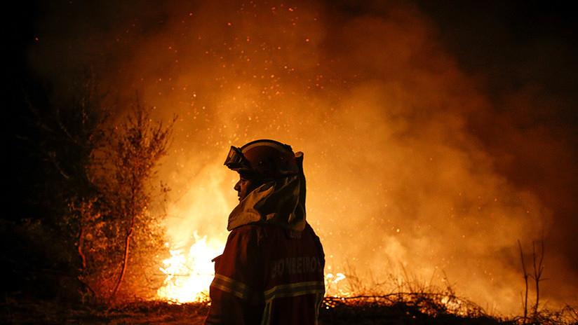 La foto apocalíptica que ilustra el infierno de los incendios en Portugal (no, no es Photoshop)
