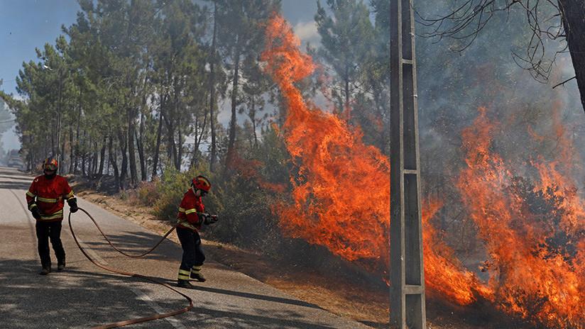 ¿Cómo el devastador huracán Ophelia ha empeorado los incendios en España y Portugal?
