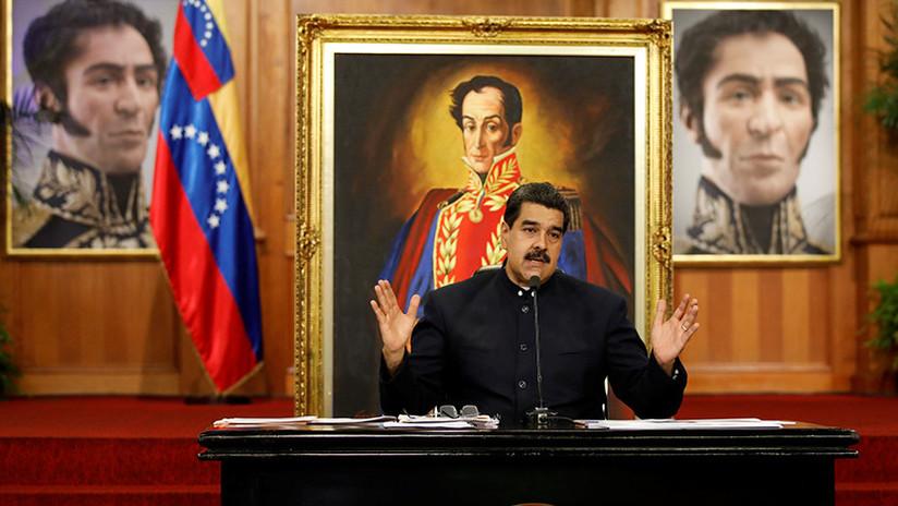 """Nicolás Maduro: """"Nuestro pueblo le ha dado un mensaje brutal a Donald Trump"""""""
