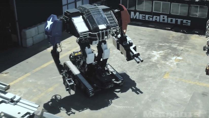VIDEOS: Prepárate para la épica pelea entre dos robots gigantes