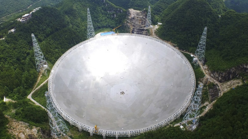 O telescópio gigante da China faz suas primeiras descobertas no espaço (VIDEO)