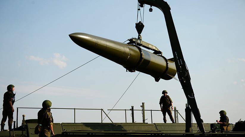 Rusia prueba un nuevo misil para su complejo Iskander