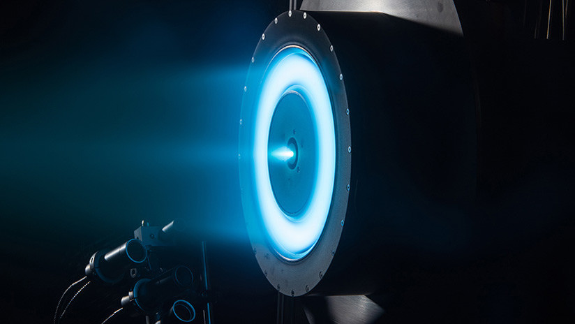 NASA DESARROLLA NUEVA TECNOLOGIA DE PROPULSION DE IONES