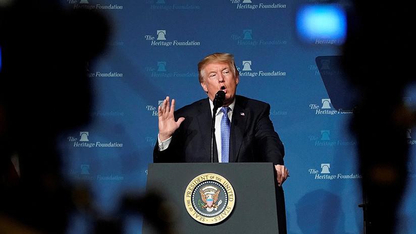 """""""Malditas mentiras de un animal demente"""": Arremeten contra Trump por sus palabras sobre Obama"""