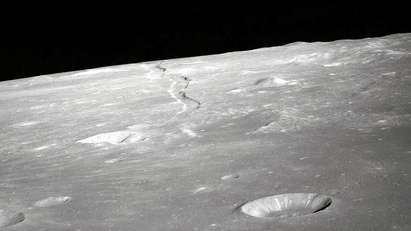 Un enorme túnel de la Luna que podría proteger de la radiación del Sol