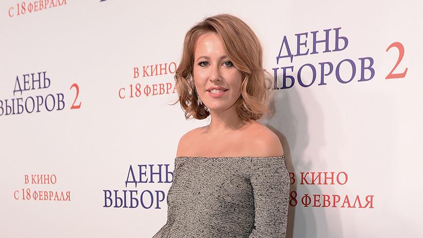 """""""Candidata contra todos"""": Una famosa presentadora de TV participará en las presidenciales rusas"""