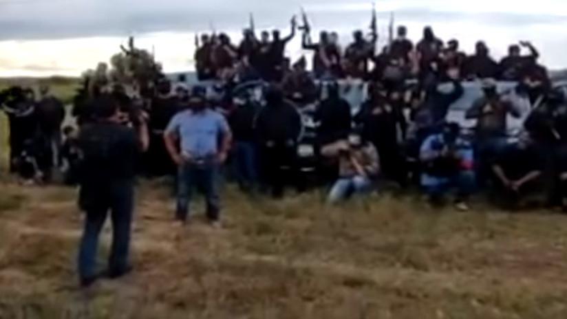 VIDEO: Nuevo grupo armado aparece en México y reta al Cártel Jalisco Nueva Generación