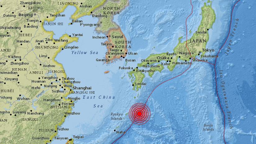 Se registra un terremoto de magnitud 5,8 en Japón
