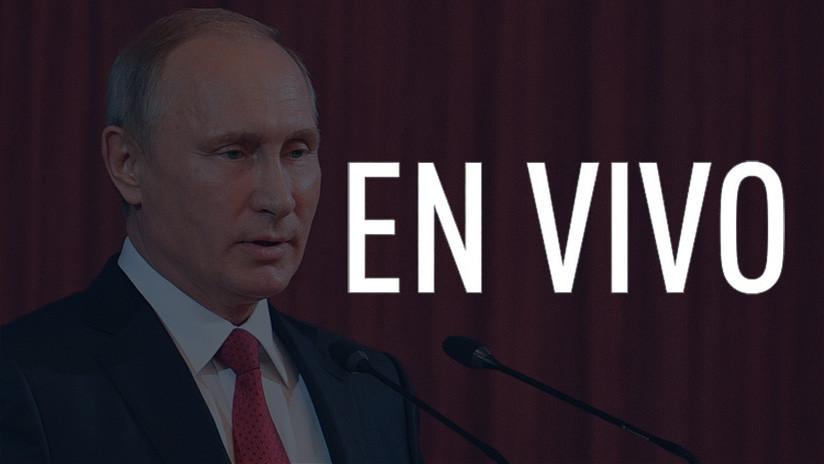 """EN VIVO: Discurso """"muy importante"""" de Vladímir Putin en el foro anual del Club Valdái"""
