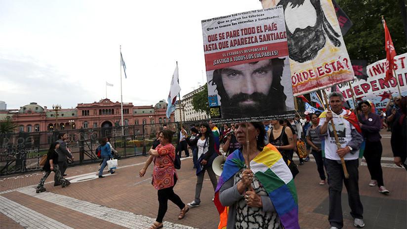 Indignación en Argentina por una encuesta oficial sobre Santiago Maldonado