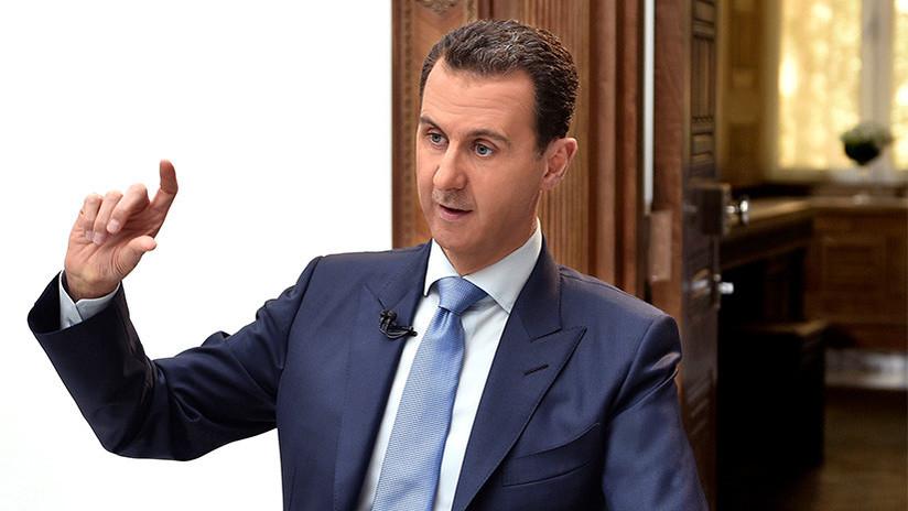 """Al Assad: """"La derrota de los terroristas asestó un golpe demoledor a los planes de Occidente"""""""