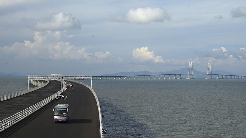 VIDEO: Así será el puente marítimo más grande del mundo