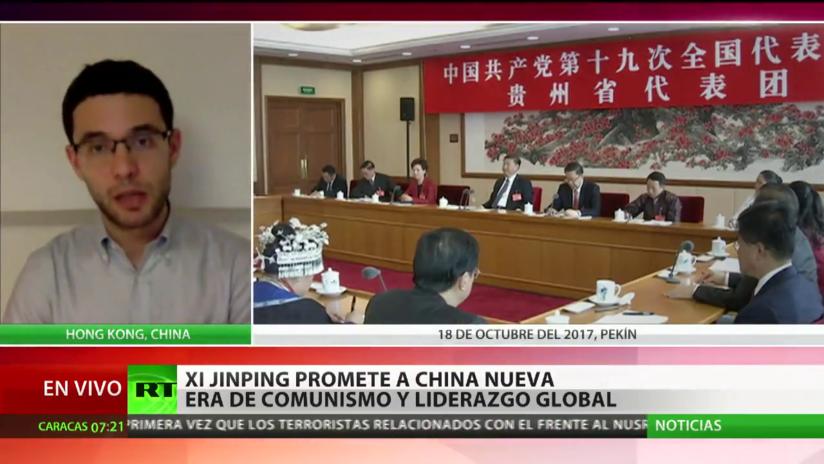 Xi Jinping promete a China una nueva era de  comunismo y liderazgo global