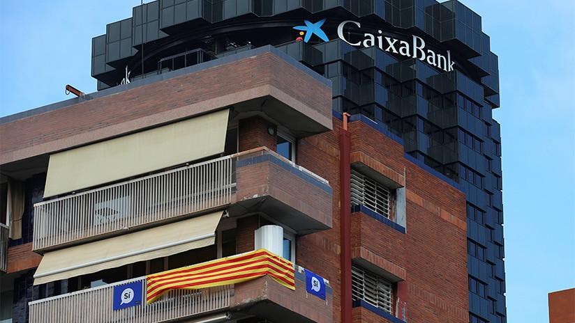Ataque independentista al sistema financiero: retiradas masivas de efectivo como protesta