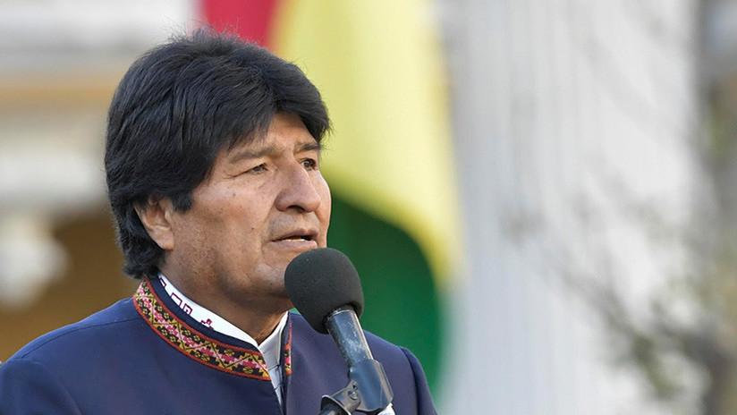 """Evo Morales: """"EE.UU. es una cueva de los delincuentes de todo el mundo"""""""