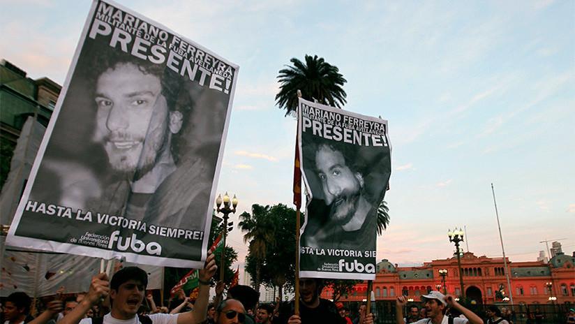 """""""Si queremos una Argentina más justa, tenemos que tomar el ejemplo de Mariano Ferreyra"""""""