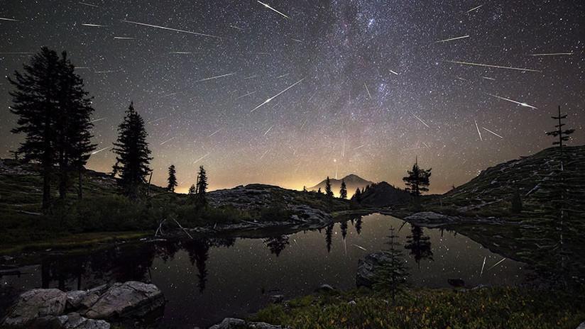 VIDEO: La impresionante lluvia de meteoros Oriónidas surca los cielos