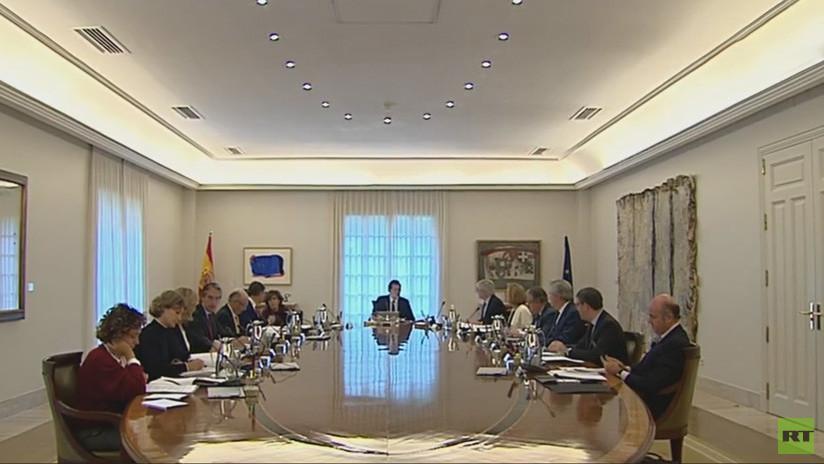 """Consejo de Ministros: España activará el artículo 155 ante la """"desobediencia rebelde"""" de Cataluña"""