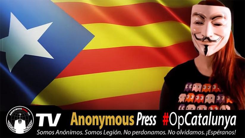 Anonymous se atribuye ataque a la web del Tribunal Constitucional de España